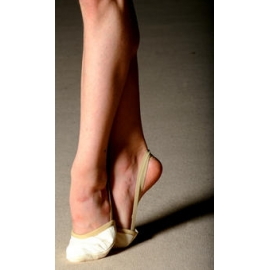 PASTORELLI beige leather half shoes