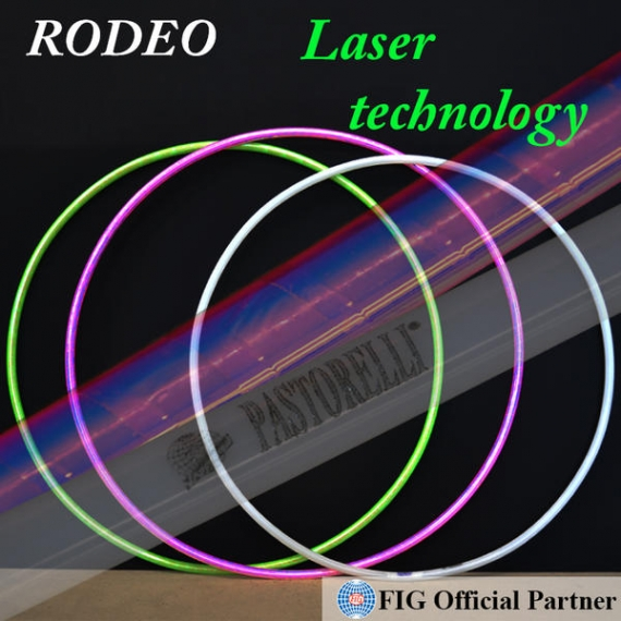 PASTORELLI RODEO hoops with Laser Technology FIG JUNIOR
